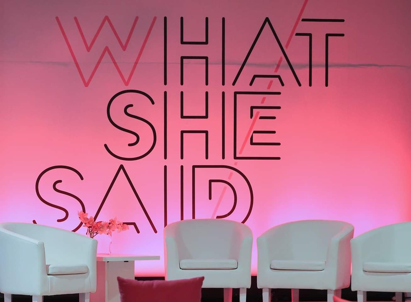 What She Said event